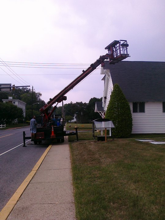 Installing the Sign